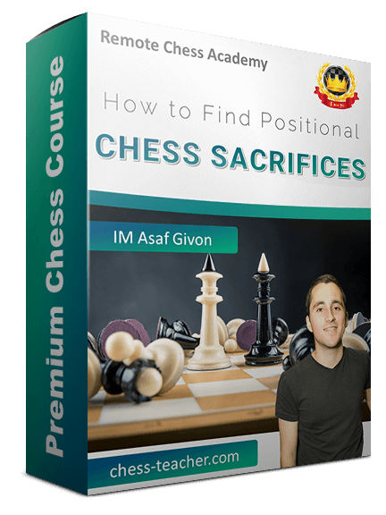 How to find positional chess sacrifices (1)